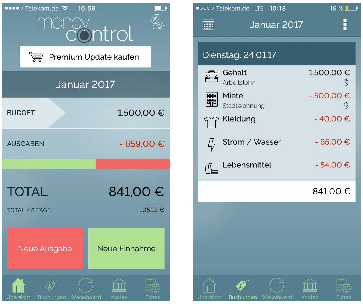 MoneyControl im Test