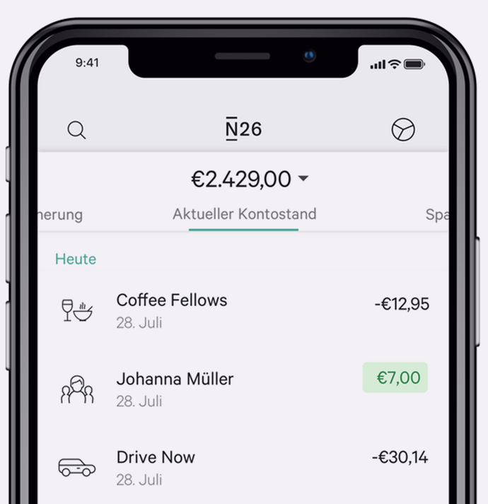 N26: Das kann die Smartphone-Bank