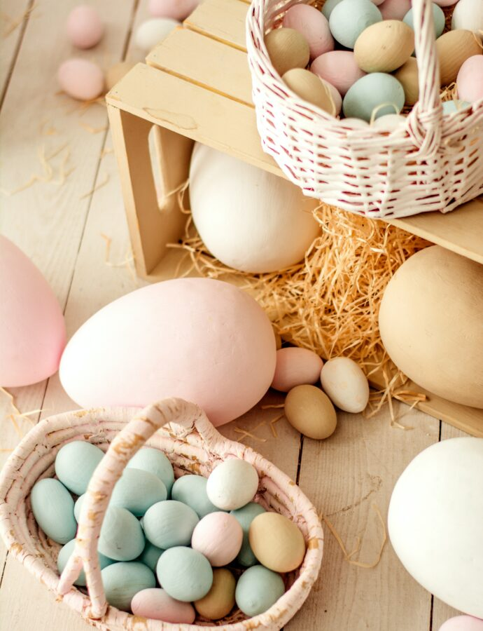 Buntes Osterfest mit kleinem Budget